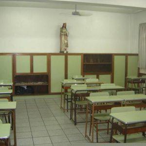 Sala de aula Ensino Fundamental I e II