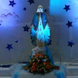 Coroação de Nossa Senhora e dia das mães