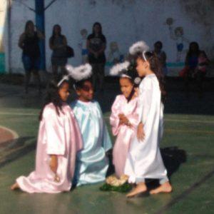 Festa de encerramento do Educandário