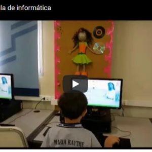 Pré 11 - aula de informática