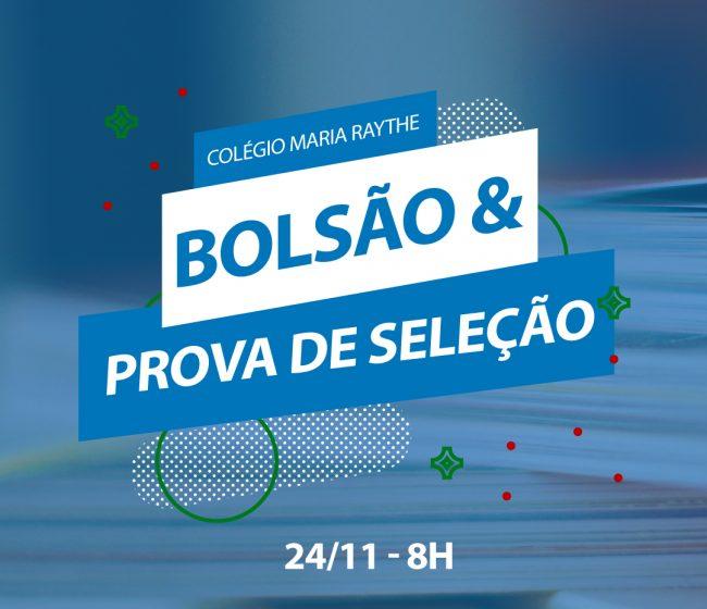 Bolsão e Prova de Seleção - 2019