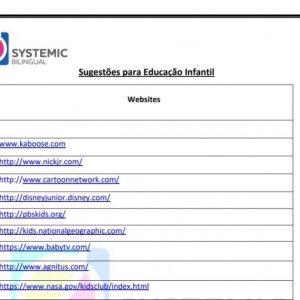 Sugestões de Sites para o Bilíngue