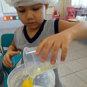 Preparando o pão - Pré 13